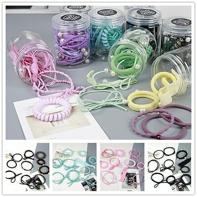 Elastic Rope Women Fashion Hair Ties Ponytail Holder Head Band Hairband US STOCK
