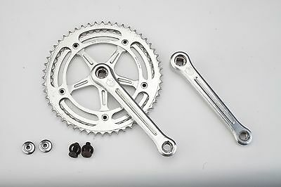 1960s Campagnolo Nuovo Record 151 BCD vintage crank set 2nd generation road bike
