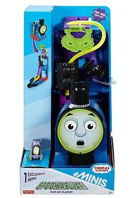 Thomas & Friends Minis Track Spooktacular Pop Up Playset & Train