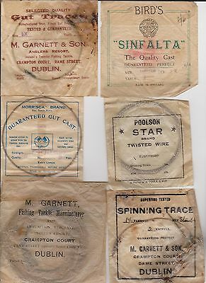 Vintage Old English Casts Leaders Labels Packages From Yesteryear ...interesting