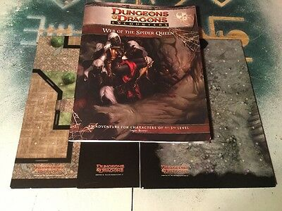 Web Of The Spider Queen ~ Dungeons & Dragons 4th Ed. ~ Wizards Of The Coast