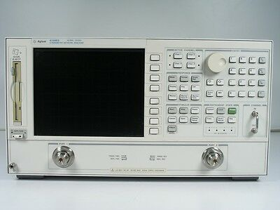 Keysight Used 8720ES Vector Network Analyzer, 50MHz- 20GHz 010,089,400 (Agilent)