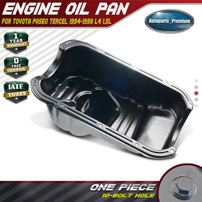 Engine Oil Pan for Toyota Paseo 1994-1998 Tercel 1995-1998 I4 1.5L 1210111060