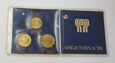 Dated : 1978 - Argentina World Cup 1978 - Commemorative Coins Presentation Pack