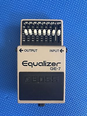 Boss GE7 | Equalizer | Guitar Effects Pedal | Modded
