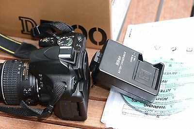 Nikon D D5100 16.2 MP SLR-Digitalkamera - Schwarz (Kit m/ AF-S DX 18-55mmVRII)