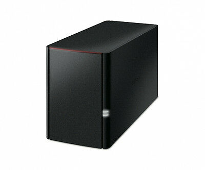 [Co.gr.] Buf0354 Linkstation 220 Nas 4Tb 2X2Tb 1Xgigabit Raid 0 1