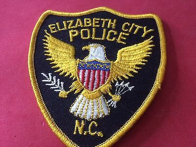 Elizabeth City North Carolina Police Patch