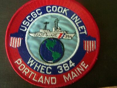 US Coast Guard Cook Inlet Portland Maine patch USCG