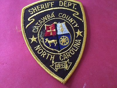 Catawba County Sheriff North Carolina Police Patch