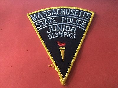 Junior Olympics Massachusetts State Police Patch