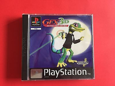 Gex 3D enter the Gecko | Playstation 1 PSX game - Complete Rare