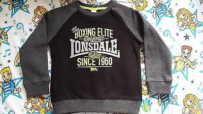 BNWT Lonsdale Boys Sweater Size 5