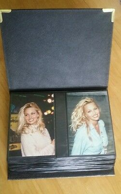 "PAMELA ANDERSON -- 117 Real Photos 6"" × 4"" In Leather Album (See Discription)"