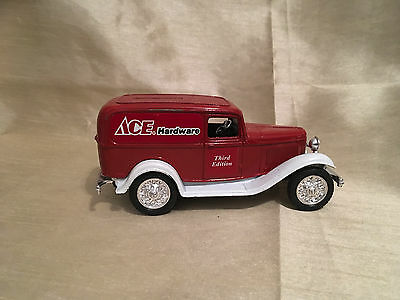 1932 Ford Ace Hardware Delivery Truck Bank by Ertl.