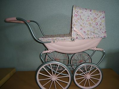 Baby Annabell vintage carraiage dolls pram pushchair sprung chassis PICK UP KENT