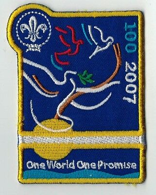 Boy Scouts - Scouts Jamboree 2007 'One World One Promise' Badge