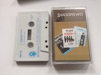 CASSETTE MUSIC TAPE.. THE SHADOWS. hits