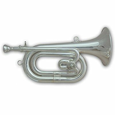 Tuyama® SPH-501 Spanish Bugle in C / Db silver plated