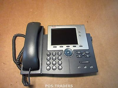 Cisco CP-7945G 2-Line Color Gigabit IP VoIP Phone 7945 IP Telephone INCL HANDSET