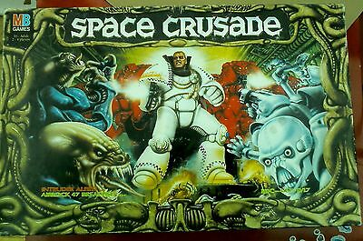 Space Crusade, complete with Dreadnought Factory extras