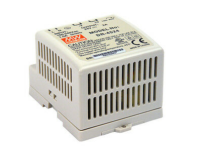 24Vdc 2 Amp Meanwell Power Supply Dr-45-24