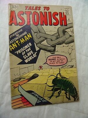 TALES TO ASTONISH #41 VERY GOOD CONDITION (silver age)