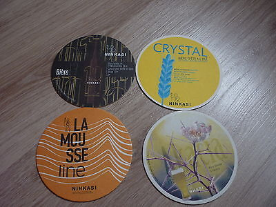 "lot de4 sous-bocks de FRANCE ""BR NINKASI"" lot 1"