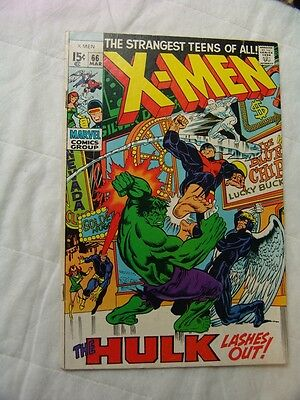 X-Men #66  (Series 1) VERY GOOD CONDITION....... (silver age)