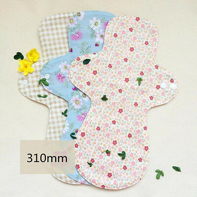 2 Pcs Panty Liner Cotton Napkin Day and Night Use Washable for Maternal Hot Sale