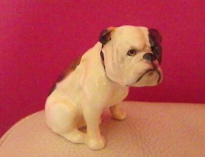 Rare Royal Doulton - Bulldog, Seated K1 - Perfect !!