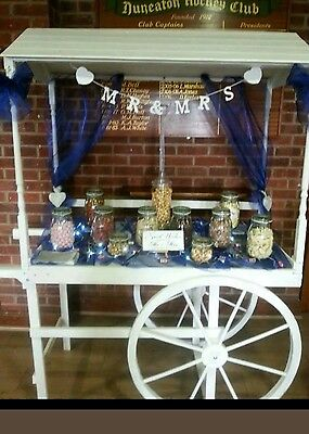 FOR SALE  wedding vintage style hand crafted cart