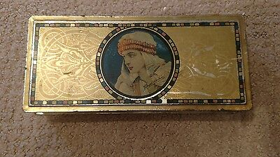 Vintage/Antique Schraffts Beautebox Canco Candy Tin~c.1920~