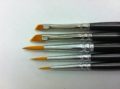 Model Painting Brushes