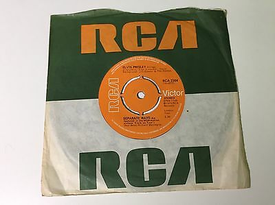 Elvis Presley - Always On My Mind / Separate Ways - RCA Victor 2304 - 1972, EX