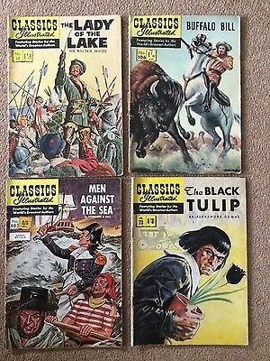 JOB LOT OF Vintage First Editions CLASSICS ILLUSTRATED COMIC Collection x 31