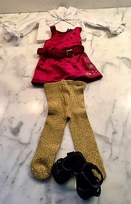 American Girl Julie's Christmas Outfit Complete