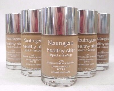 Neutrogena Healthy Skin Liquid Makeup SPF 20 CHOOSE YOUR SHADE NEW Exp 08/17+