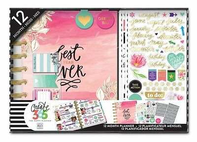 Me & My Big Ideas Create 365 CLASSIC Happy Planner 12 Month Box Kit - Best Years
