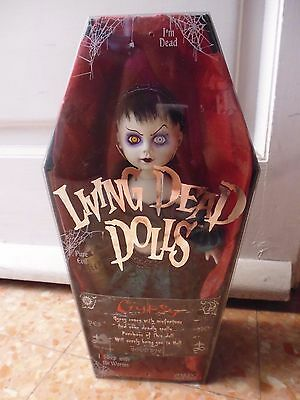Living dead dolls gipsy collection series 15 bambola zombie dark goth