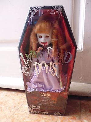 Living Dead Dolls Orchid Series 19 collection bambola dark goth original