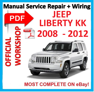 # OFFICIAL WORKSHOP  MANUAL service repair JEEP Liberty KK 2008-2012