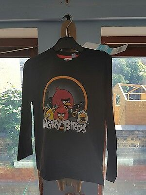 Angry birds long sleeve top  RRP £9.99