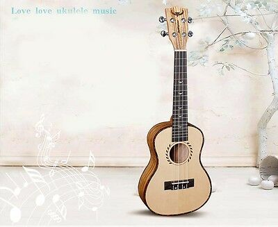 New 23 inches Wood Color 4 String Beginner Preferred Musical Instrument Ukulele