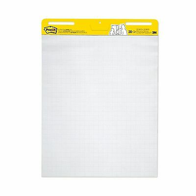 Post-it Easel Pad 25 x 30-Inches Sheets White with Grid 30-Sheets/Pad 2-Pads/...
