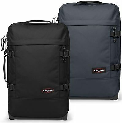 Eastpak Tranverz S Cabin Luggage Case - Black, Blue