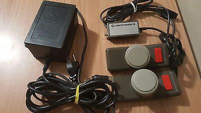 Commodore 64 Vic-20 power supply, RF and paddle controller CANADIAN SELLER