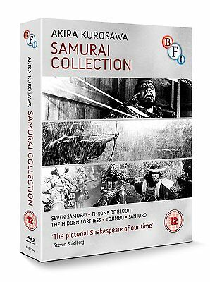 Kurosawa: The Samurai Collection - 4 Disc Blu-Ray Box Set