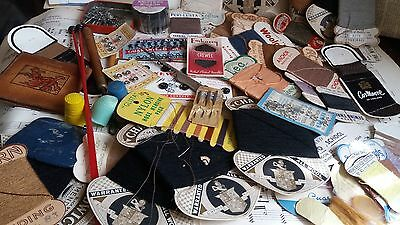 Antique Vintage Huge Job lot of sewing items many different types as shown
