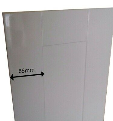 Kitchen Unit Cupboard Doors Gloss White Shaker panel style drawers and plinths